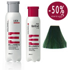 ELUMEN PACK DUO TRATAMIENTO SELLADOR LOCK Y COLOR GN VERDE