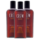 Pack 3 American Crew Daily Shampoo