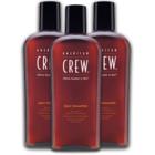 Pack 3 American Crew Gray Shampoo