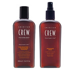 Pack American Crew Hair Recovery +Thickening y Grooming spray