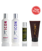 PACK ICON ANTIDOTE SHIEL POST TONIC INDIA CURL CREAM