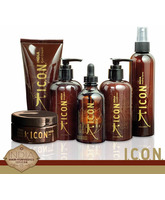 PACK ICON INDIA COMPLETO Shampoo, Conditioner, Oil, Healing, 24K, Curl Cream