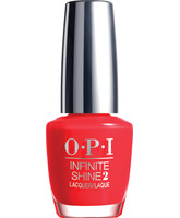 OPI INFINITE SHINE IS L08 UNREPENTANLY RED