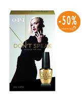 Opi Don´t Speak 18k Gold Top Coat