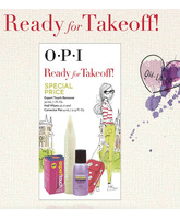 OPI READY FOR TAKEOFF SPECIAL PRICE