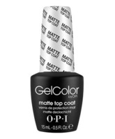 Opi Gel Color Top Coat Matte