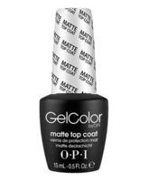 Opi Gel Color Top Coat Matte