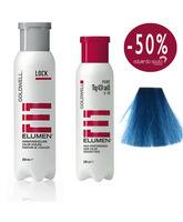 ELUMEN PACK DUO, TRATAMIENTO SELLADOR LOCK Y COLOR TQ@ALL TURQUESA