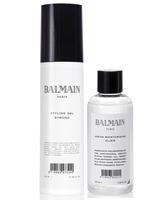 Balmain pack Styling Gel Strong + Argan Moisturizing Elixir