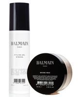 Balmain pack Styling Gel Strong + Shine Wax