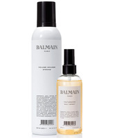 Balmain pack Volumen mousse strong + Texturizing Salt Spray