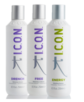 ICON DRENCH, FREE Y ENERGY 250 ML.