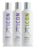 ICON DRENCH, FREE Y ENERGY 250 ML.