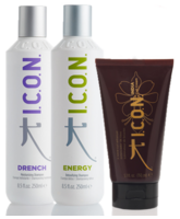 ICON DRENCH Y ENERGY 250 ML CURL CREAM 150 ML.