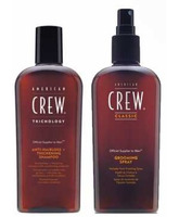 PACK ANTI HAIRLOSS THICKENING Y GROOMING SPRAY AMERICAN CREW