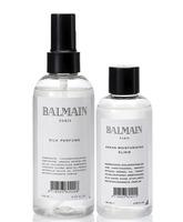 Pack Balmain Argan Moisturizing Elixir y Silk Perfume