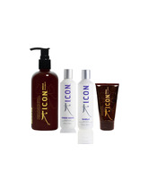 Pack Icon India 1L+ Inner Home + Shield + India Curl cream