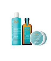 Pack Moroccanoil tratamiento 100ml + champu repair+ Texture Clay