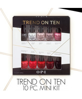 OPI TREND ON TEN PACK ESMALTES