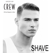 AMERICAN CREW, THE SHAVE.