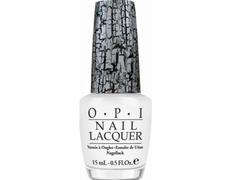 NLE54 OPI White Shatter