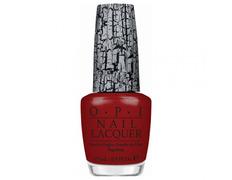 NLE55 OPI Red Shatter