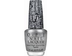 NLE62 OPI Silver Shatter