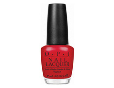 NLZ13 Opi Color So Hot it Berns
