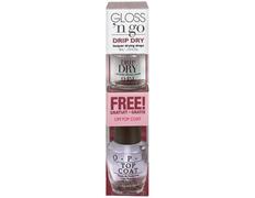 Opi Gloss n Go: secante Drip Dry + brillo Opi Top Coat