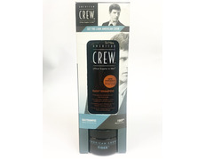 AMERICAN CREW DUO PACK GET THE LOOK DAILY SHAMPOO FIBER