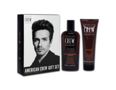 American Crew Gift Set Daily Shampoo + Firm Hold Styling Gel