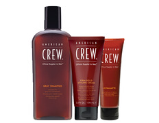 AMERICAN CREW GRAY SHAMPOO FIRM HOLD CREAM ULTRAMATTE