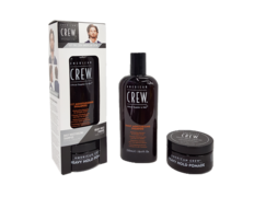 American Crew Pack Daily Moisturizing + Heavy Hold Pomade