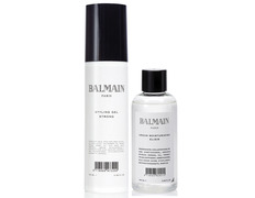 Balmain pack Styling Gel Strong + Argan Moisturizing Elixir