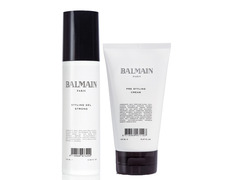 Balmain pack Styling Gel Strong + Pre Styling Cream
