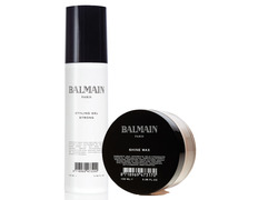 Balmain pack Styling Gel Strong + Shine Wax