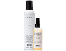 Balmain pack Volumen mousse strong + Texturizing Salt Spray