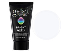 Morgan Taylor Gelish Polygel Bright White opaque