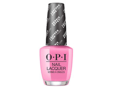 Opi Nail Lacquer Leather Electryfyin´ Pink