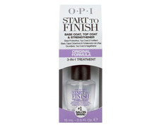 OPI START TO FININSH. BASE, PROTECTOR Y FORTALECEDOR DE UÑAS.