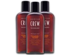 Pack 3 American Crew Anti-Hairloss + Thickening Shampoo