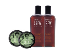 Pack american crew 2 Daily shampoo + 2 Forming