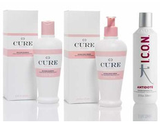 PACK ICON CURE SHAMPOO, DOBLE BODY SERUM Y ANTIDOTE