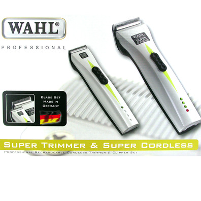 PACK SUPER CORDLESS SUPER TRIMMER MAQUINAS DE CORTE PROFESIONAL