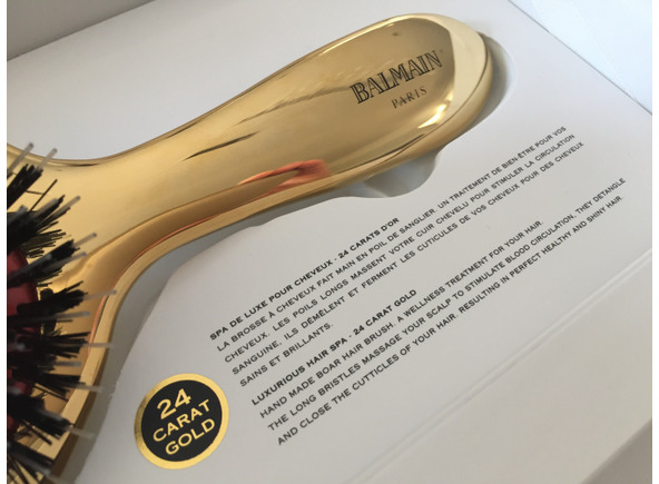 Balmain Luxurious Golden Spa Brush
